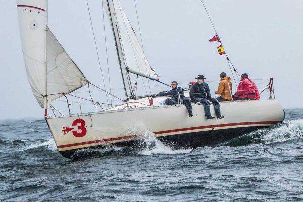 O «Bouvento», vencedor na clase Fígaro // Foto © Rosana Calvo