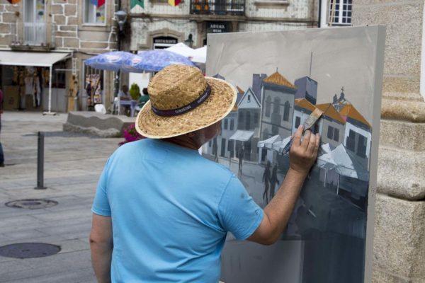 Certame Pintura ao Aire Libre 'Antonio Fernández' // Foto ©Delmi Álvarez