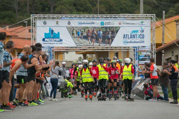 15k do Atlántico – Participantes da proba a patíns
