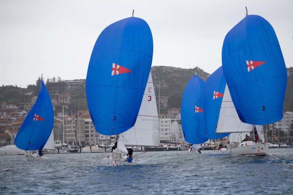 Os Figaros Beneteau foron os barcos elixidos para as primeiras probas da Liga / Foto: ©María Muíña