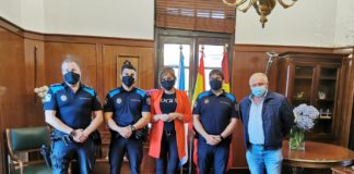 Digna Rivas, Lenoardo Cabaleiro e a policía local