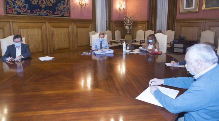 Xunta de goberno. Deputación de Pontevedra - Setembro 2020